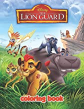 The Lion Guard Coloring Book: JUMBO Coloring Book For Kids | Ages 2-13+ The Lion Guard Colouring Book Gift For Children