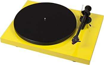Pro-Ject Debut Carbon DC Turntable with Ortofon 2M Red Cartridge (Yellow)