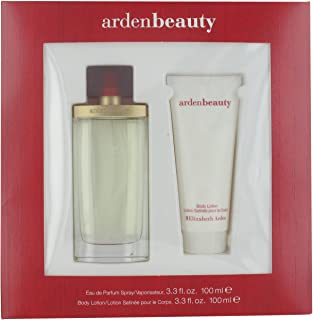 Beauty by Elizabeth Arden Eau de Parfum Spray 100ml & Body Lotion 100ml