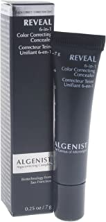 Algenist Reveal 6-in-1 Color Correcting Concealer, Tan, 0.25 Ounce