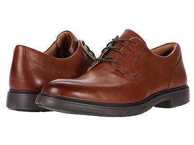 Clarks Un Tailor Tie (Tan Leather) Men