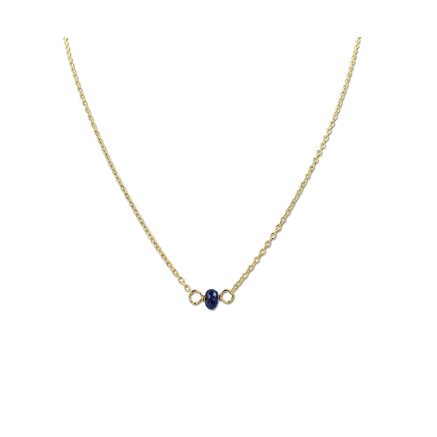 Gold Birthstone Choker Necklace 16 Sale SALE% Animer and price revision OFF Fill - S Inches Yellow