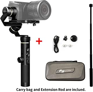 Feiyu G6 Plus 3-Axis Handheld Gimbal stabilizer for SmartphonesAction Camera Micro Single Including Stem Extension