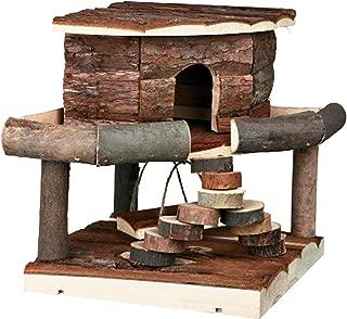 Pet Ting Natural Living Ida House Small Hamster Mice Gerbil Playhouse Wooden