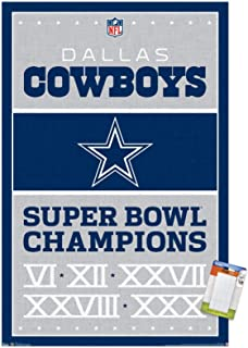 Dallas Cowboys Star Art Wall Indoor Room Outdoor Poster POSTER 24x36