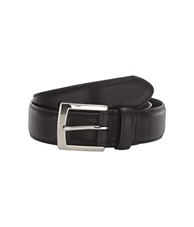 Shinola Detroit 1 1/2 Bedrock Belt (Black) Men