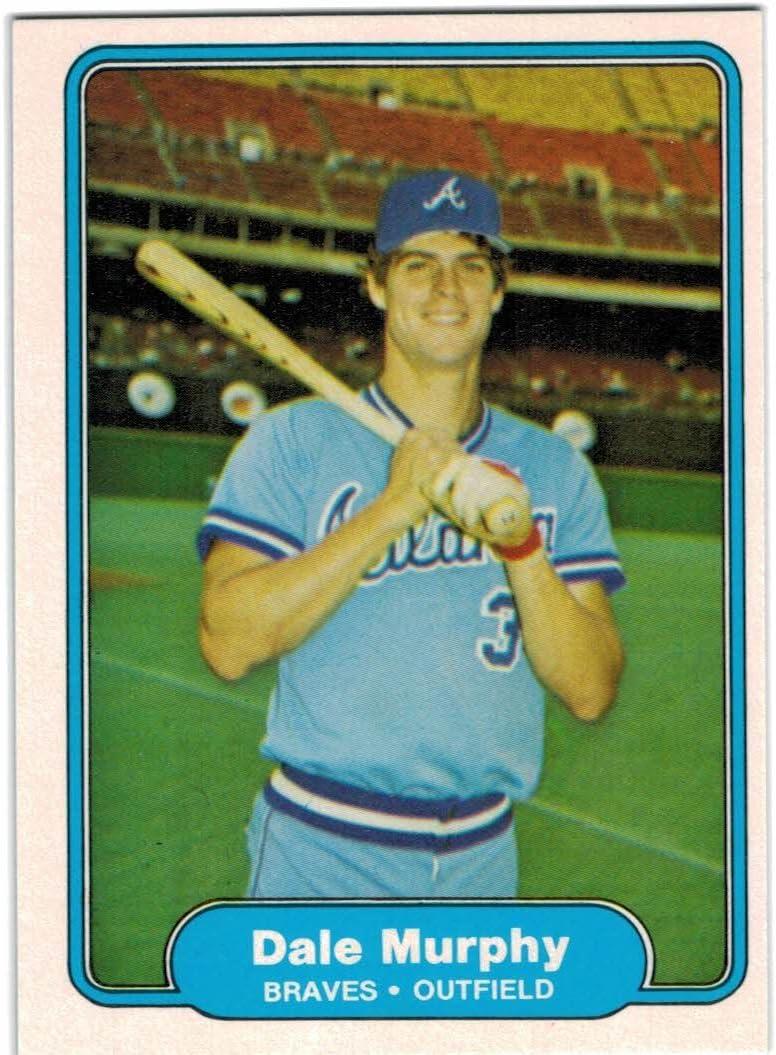 1982 Fleer Atlanta Braves Team Popular popular Set Gaylord with Dale Murphy Pe - Washington Mall