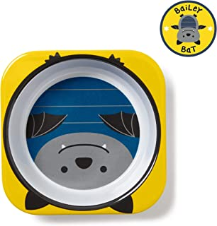 Skip Hop Skip Hop Baby Zoo Little Kid and Toddler Melamine Feeding Bowl for Mealtime, Bat