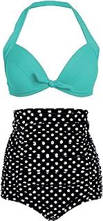 fe1f651ebb2c Amazon.es: Ropa Pin Up - Conjuntos / Bikinis: Ropa