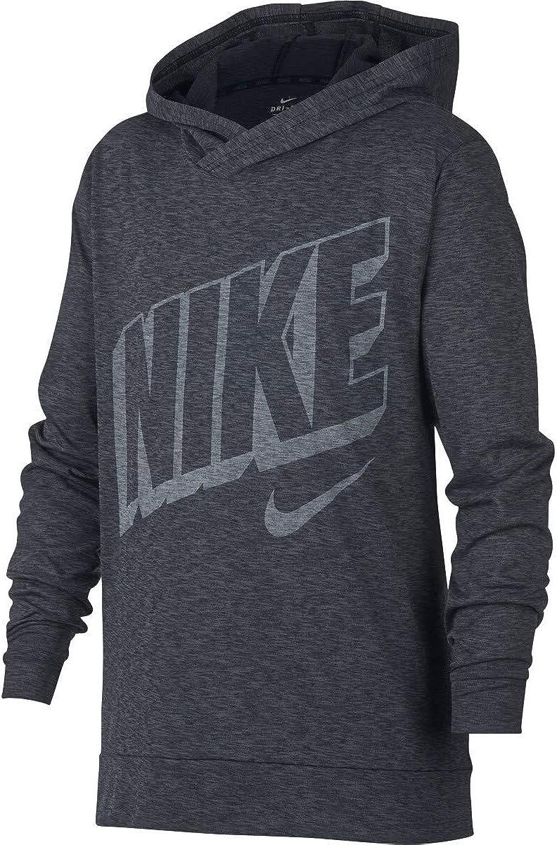 Nike Little Boys' Breathe Dri-Fit Long Sleeve Hooded T-Shirt