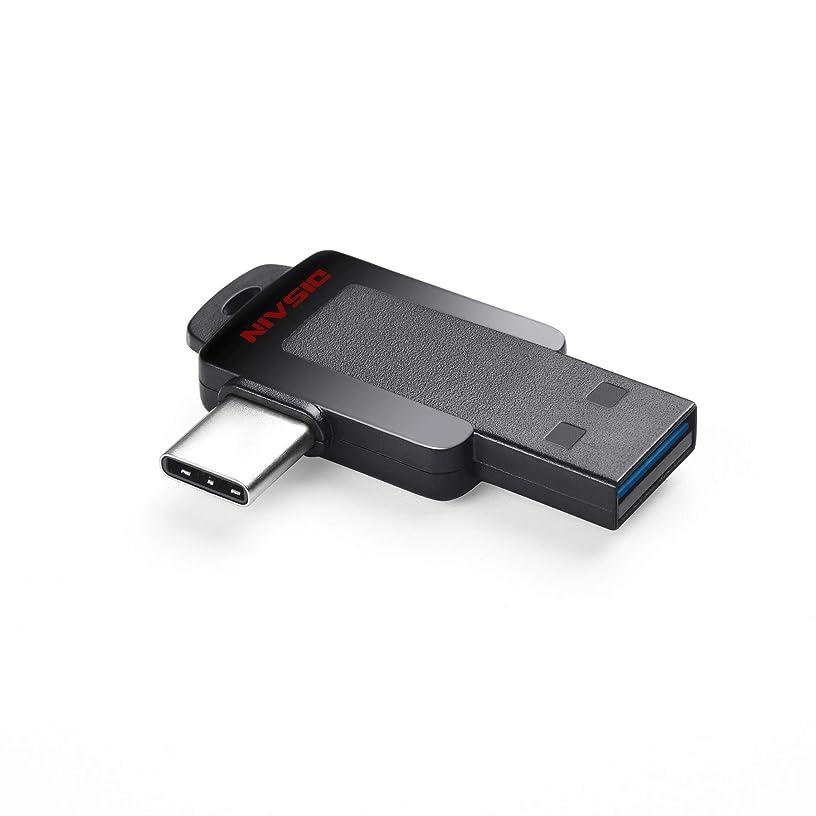 USB C Flash Drive, DISAIN 16GB Mini Type C Flash Drive(USB-A 3.0/USB-C 3.0), High Speed Dual USB Thumb Drive Photo Stick for USB-C Smartphones, Tablets, PC, MacBook Pro/Air