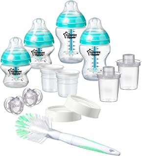 Tommee Tippee Advanced Anti Colic Newborn Bottle Feeding Starter Set