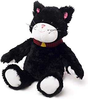 Intelex Warmies Mini Cozy Plush Microwavable Toy - Black & White Cat
