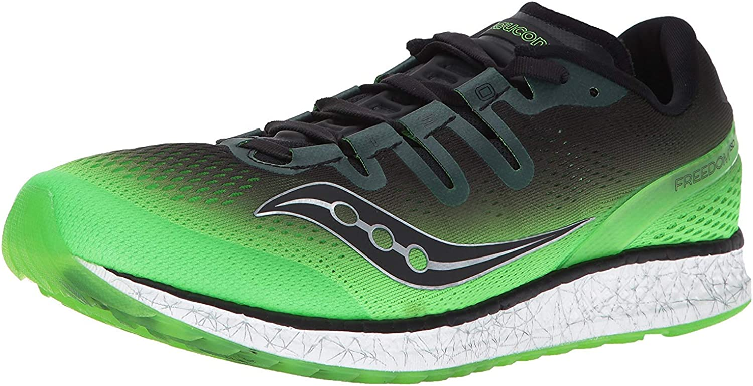 Safety and trust Saucony Men's Great interest Freedom ISO Shoe Running