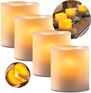 partylite square pillar candles