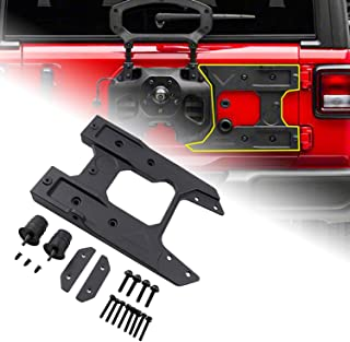 omotor Spare Tire Carrier Tailgate Oversized Reinforcement Kits for Jeep Wrangler JL 2018 2019 2020