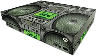 MightySkins Skin Compatible With Microsoft One X Console Only - Boombox | Protective, Durable, and Unique Vinyl Decal wrap...