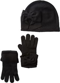 Kate Spade New York Dorothy Bow Beanie & Gloves Set