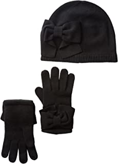 Kate Spade New York Dorothy Bow Beanie & Gloves Set