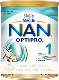 Nestlé NAN OPTIPRO Stage 1 Infant Milk Formula, 0-6 months, 800g