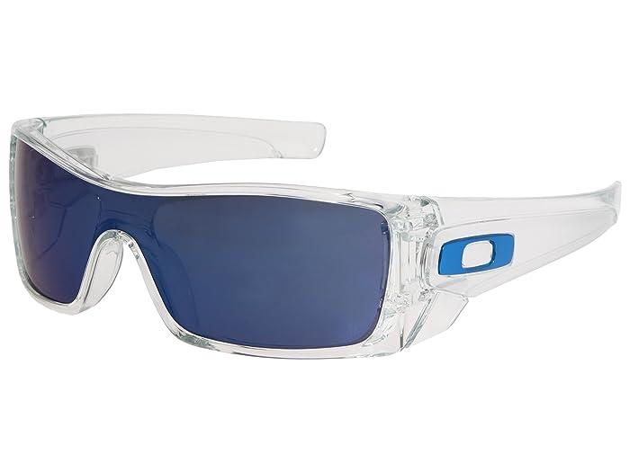 Oakley Batwolf (Clear/Ice Iridium) Sport Sunglasses