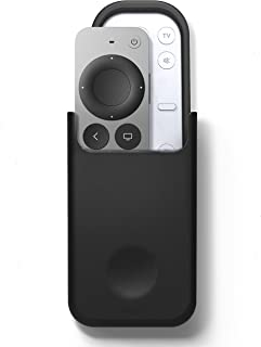 elago Universal Remote Holder Mount Compatible with Apple TV Remote Control and All Other Remote Controls [ Medium ] [Blac...