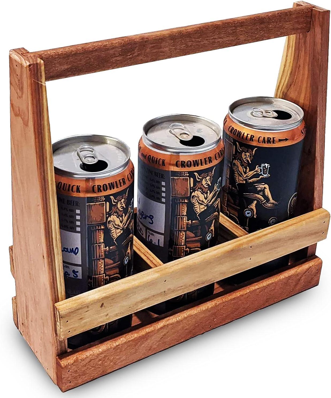 Beer 2021 Caddy Popular overseas - Wooden Han Crowler Craft Holder