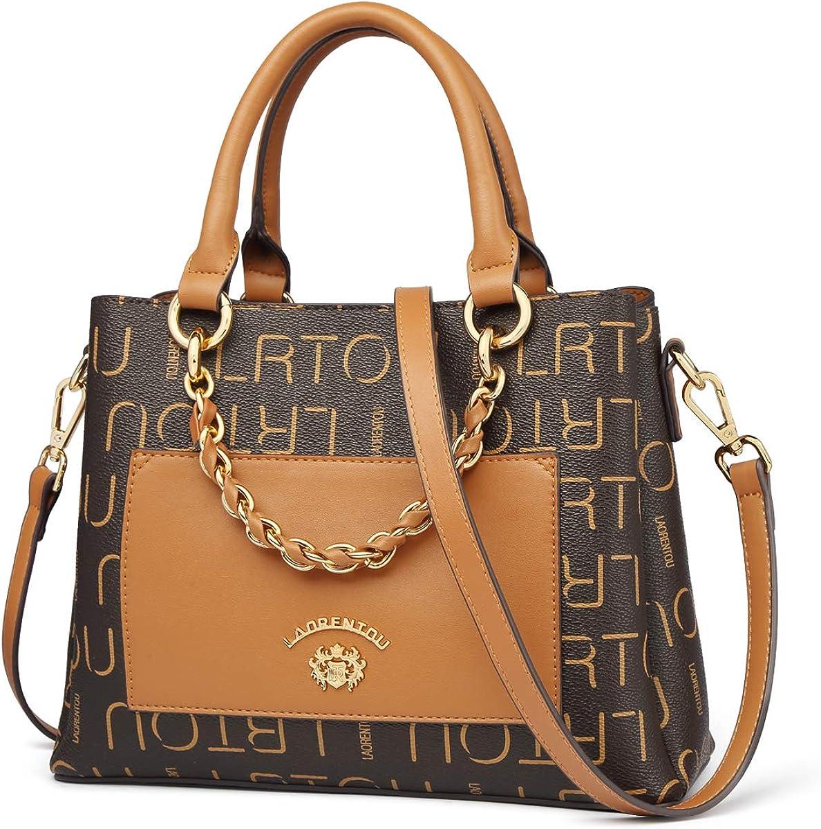 Max 44% OFF LAORENTOU PVC Women's Signature Checkered OFFicial mail order Purses Handbags