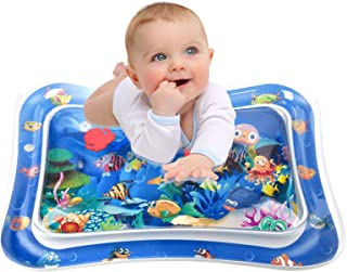 Infinno Inflatable Tummy Time Mat Premium Baby Water Play Mat for Infants and Toddlers Baby Toys for 3 to 24 Months, Stren...