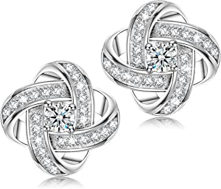 0acd698cc8 Alex Perry Satellite Series Women Stud Earrings, 925 Sterling Silver, 5A  Cubic Zirconia,
