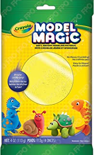 Crayola Model Magic Clay Bag, Neon Yellow, 4-Ounce