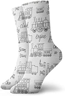 Vintage Retro Engines Pattern Socks Colorful Cool Sport Travels Calcetines for Men Women
