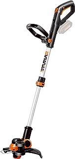 Worx WG163E.9 - Cortabordes y desbrozadora 2 en 1 (String trimmer, Nylon line, D-loop handle, 1,65 mm, 3 m)