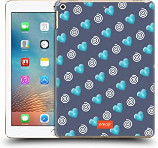 Official Emoji Hearts and Swirls Winter Patterns Hard Back Case Compatible for Apple iPad 9.7 2017 / iPad 9.7 2018