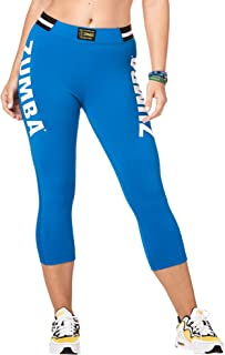 Zumba All That Glitters is High Waisted Crop Leggings - Night Sky Z1B00891