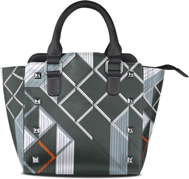 Coosun Frauen Quilting Gedanken Muster PU Leder Schultertasche Top-Griff Handtasche Handtasche Handtasche Tote Umhängetasche B010P1CNMQ  Neuer Eintrag 7c6d42