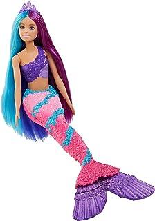 Mattel - Barbie Dreamtopia Mermaid Doll, Long Hair