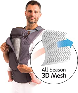 Beco 8 All-in-One Baby Carrier (Dark Grey Cool)