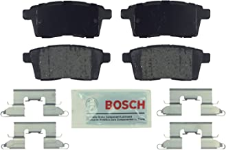 Bosch BE1259H Blue Disc Brake Pad Set with Hardware For: Ford Edge; Lincoln MKX; Mazda CX-7, CX-9, Rear