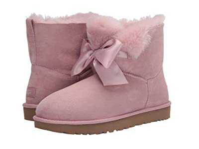 UGG Gita Bow Mini Boot (Pink Crystal) Women