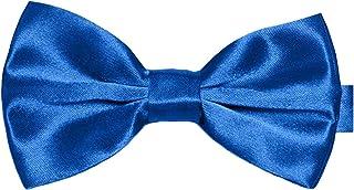Cravatte a farfalla pre-legate classiche da uomo Tuxedo Bowtie regolabile Lunghezza per cravatta fantasia Fancy Plain Bowtie