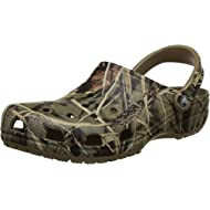 Men's and Women's Classic Realtree Clog | Comfort Slip On Camo Casual Shoe | Lightweight