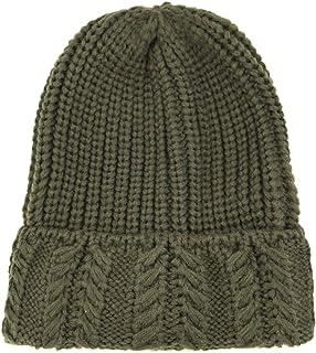 موس روز الشتاء الدافئ لينة مكتنزة كابل ضلع متماسكة قبعة صغيرة للنساء الرجال