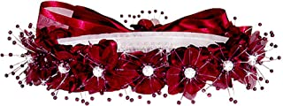 AMJ Dresses Inc Girls One Size Flower Girl Wedding Pageant Holiday Hair Wreath