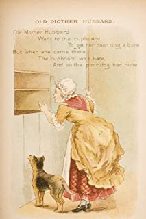 Old Mother Hubbard from Old Mother Gooses Rhymes and Tales Illustration by Constance Haslewood Published by Frederick Warn...