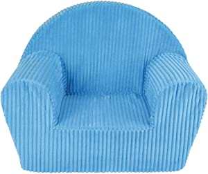 FUN HOUSE 712720 Poltrona Club Blu in Schiuma per Bambini Custodia 100% Poliestere, Schiuma 100% polyether 52 x 33 x 42 cm