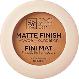 Best Ruby Kisses Never Touch Up Matte Finish Powder Foundation 0.35oz - (Caramel) Review