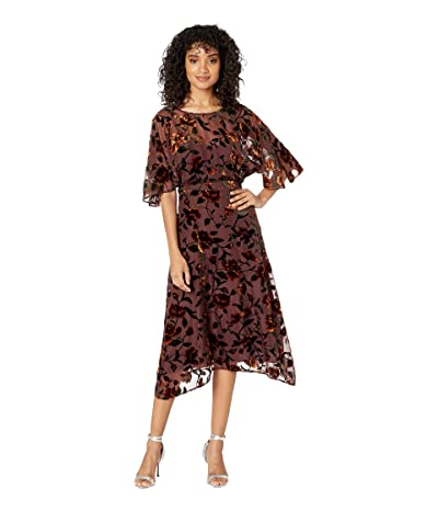 ASTR the Label Sadie Dress (Golden Rust Floral) Women