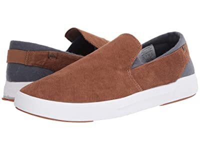 Quiksilver Surf Check II Premium (Brown/Brown/White) Men