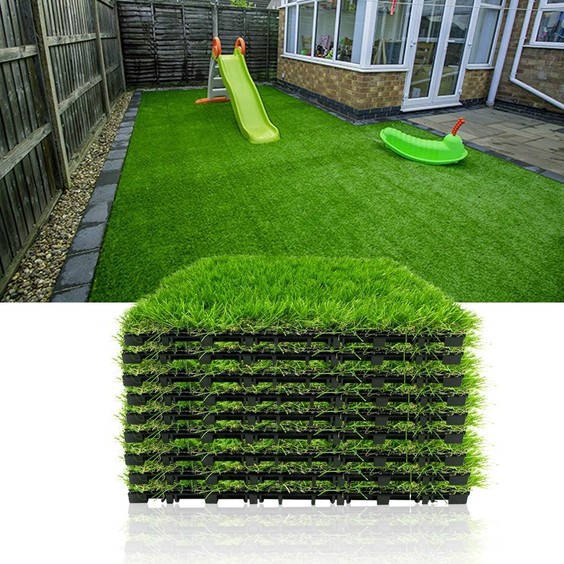 Progoal Artificial Grass Super-cheap Turf Tile Mat Inter Fake Tulsa Mall Flooring